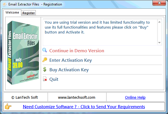 PDF File Email Extractor free download for windows 10